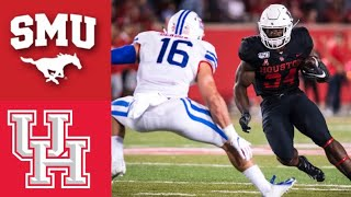 #16 SMU vs Houston Highlights | NCAAF Week 9 | College Football Highlights