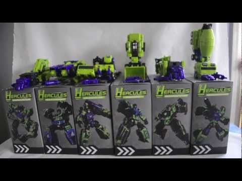 Transformers Reviews-TFC Toys Hercules (Devastator)