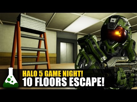 10 Floors Escape! - Halo 5 Puzzle Map