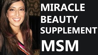 MSM - The Miracle Beauty, Hair & Health Supplement - Goddess by Feritta