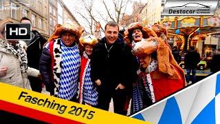 как празднуют масленицу в Германии, Fasching München 2015, карнавал в Мюнхене