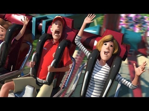Accident dans le parc d'attraction Planet Coaster !