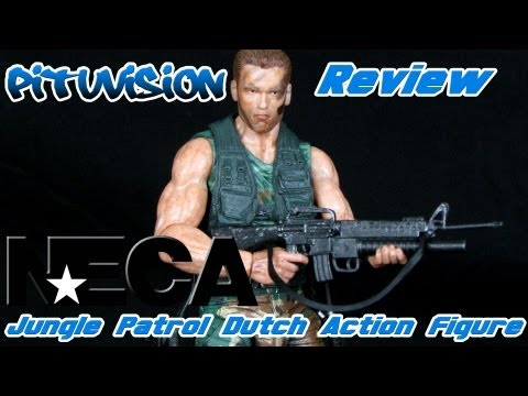 NECA Jungle Patrol Dutch Action Figure Review