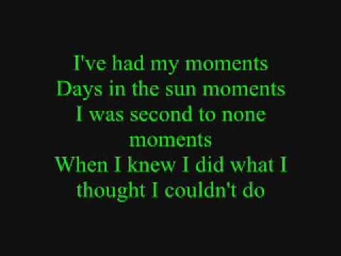 Emerson Drive- Moments Lyrics video