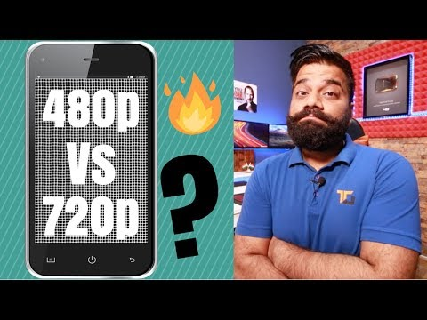 Why 480p is not almost same as 720p HD? 480p Vs 720p Vs 1080p Vs 1440p Explained