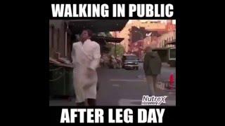 Funniest After leg day Fails