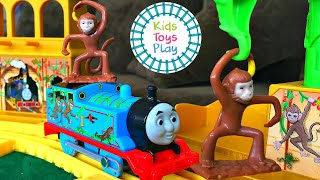 Thomas and Friends | Thomas and the Monkey Palace Trackmaster Playset