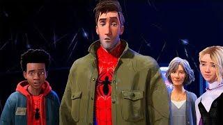 Other Spider People Scene - Spider-Man: Into the Spider-Verse (2018) Movie Clip HD