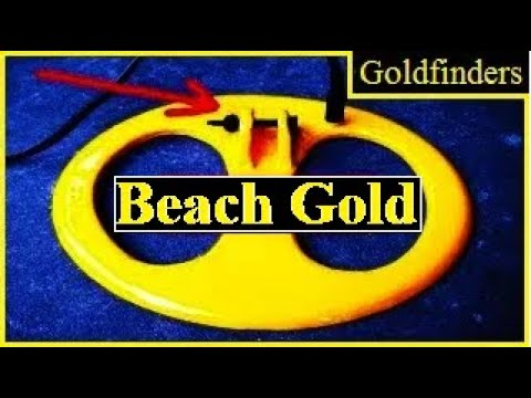GOLD ON THE BEACH. 6 (We show you exactly where the heavier gold items can be found)