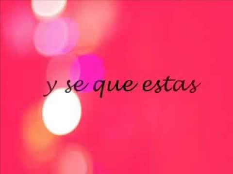 Jaci Velasquez - A un paso de mi amor (letra)