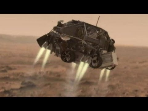 NASA's Curiosity Mars Rover: '7 Minutes of Terror' Animation Video