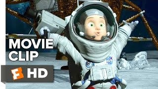 Capture the Flag Movie CLIP - Moon Landing (2015) - Animated Movie HD