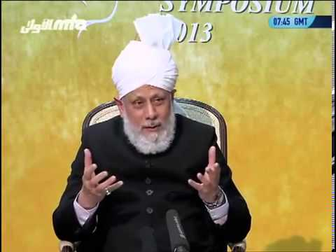 Mirza Masroor Ahmed - Nadia Ramzan Chaudhry   Scatter Brain Pakistani -pti. video