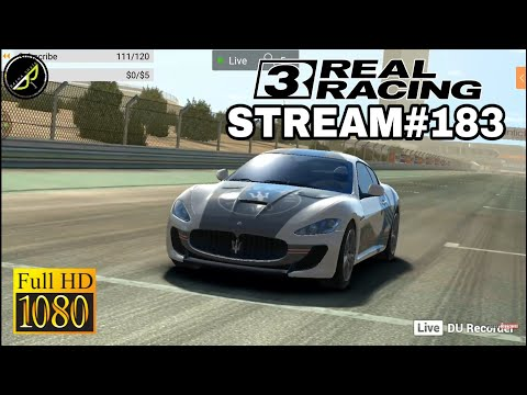 My Real Racing 3 Stream #183 - GAMEPLAY - WALKTHROUGH - ENGLISH/HINDI/TELUGU