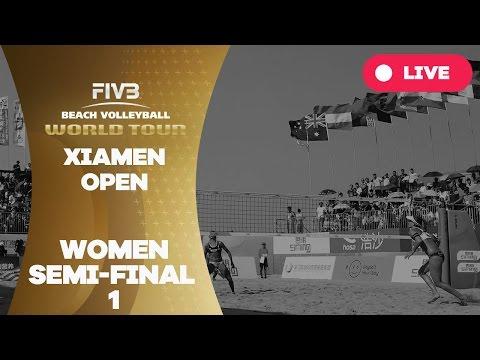 Xiamen Open - Women Semi Final 1 - Beach Volleyball World Tour