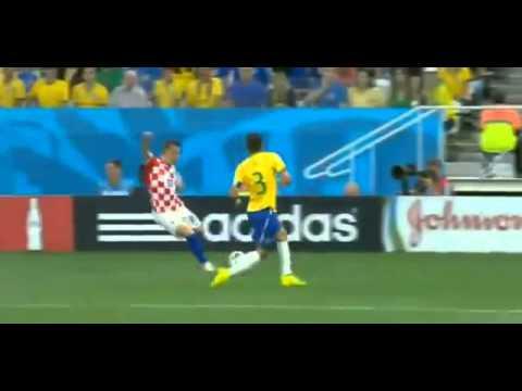 AUTO GOL DE BRASIL (MUNDIAL 2014) Marcelo OwnGoal Brazil vs Croatia 0 1 World Cup 2014