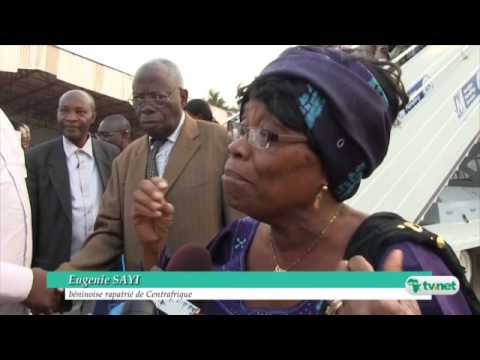Le Bénin accueille Michel DJOTODIA