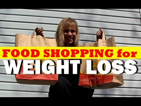 Clifta Perez Healthy Food Shopping for WEIGHT LOSS