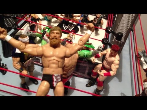 GTS WRESTLING: Smell in a Cell! WWE Mattel elite action figure matches animation Championship match