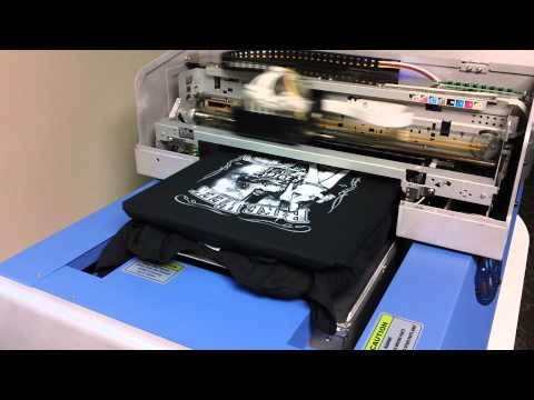 FreeJet 330TX direct to garment printer.MP4