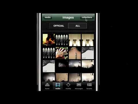 NIN iPhone app walkthrough w/Trent Reznor & Rob Sheridan