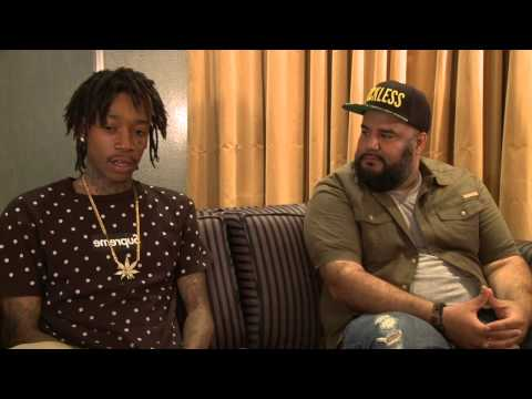 Wiz Khalifa *Exclusive* with Chuey Martinez