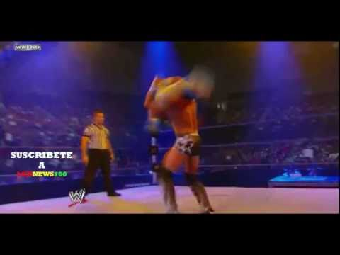 SIN CARA Vs Tyson Kidd Smackdown 8 Julio 2011 WWE