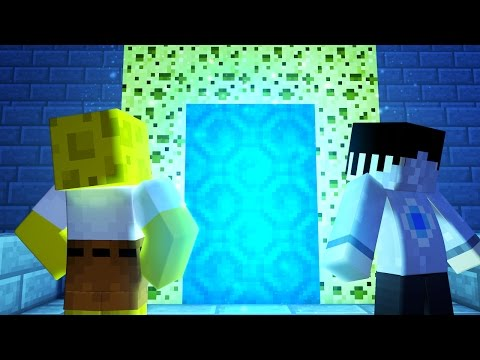 Minecraft HOW TO MAKE A PORTAL TO THE SPONGEBOB DIMENSION! | Minecraft Roleplay