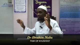 Yayasan Ta'lim: Fiqh Of Khushoo' [19-09-15]