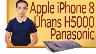 СН. Apple iPhone 8, Uhans H5000, Смартфоны горят, Panasonic