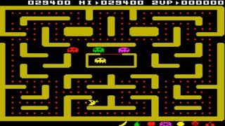MAME MESS DIDAKTIK SKALICA DIDAKTIK GAMMA 87 PLAYING MS PACMAN PAC MAN IT SINCLAIR ZX SPECTRUM CLONE