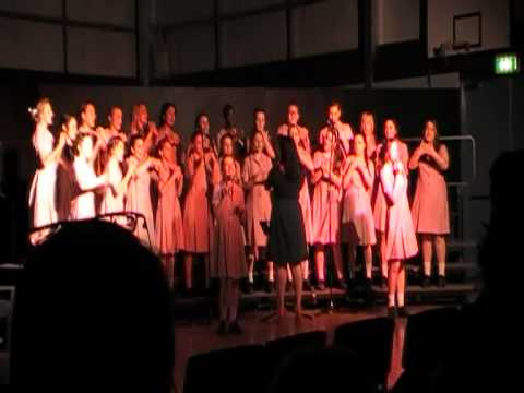 Higher and Higher - Secondary School choir St Johns Grammar School