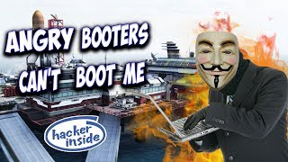 Angry Booters Can't Boot Me! (Nero Vs Booter #2)