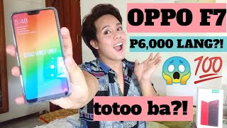 Unboxing OPPO F7 + REVIEW! P6,000 LANG?! (Philippines) | Just Nadya 🌈