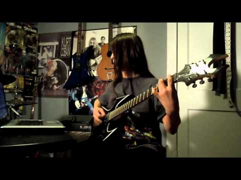 Mastodon Crack the Skye Guitar Cover By Gavin