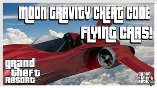 GTA 5 - Flying Cars Cheat Code (Grand Theft Auto 5 Secrets)