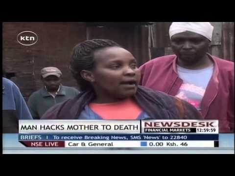 40-year-old Man Killed By Angry Mob For Murdering His Mother In Githunguri, Kiambu County video