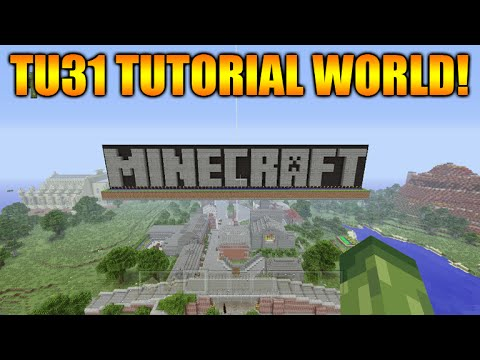 ★[LIVE] Minecraft Xbox 360 + PS3: Title Update 31 NEW Tutorial Mode Exploring★