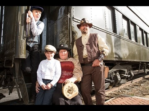 Thoughts on a Steampunk Train Shoot - Video & Photography Tutorial