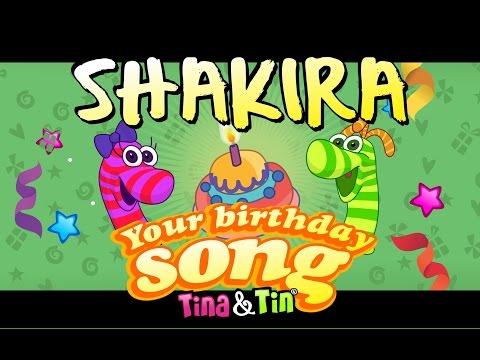 Tina&Tin Happy Birthday SHAKIRA