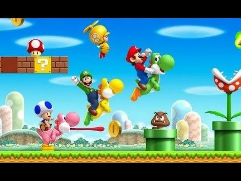 Review New Super Mario Bros Wii