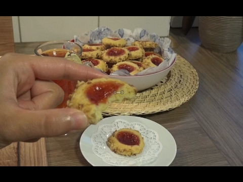 Marmelatlı Fındık Mantolu Kurabiye Tarifi Videosu