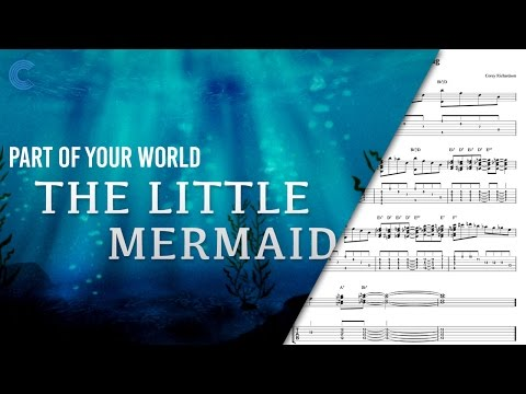 Violin   Part Of Your World   Disney's The Little Mermaid   Sheet Music, Vocal, &amp  Chords