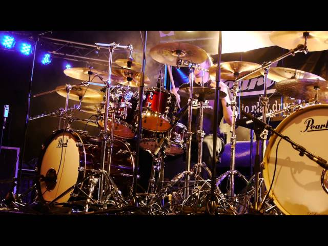 • Kai Hahto w/ Pearl Reference Pure Drums • [ David Garibaldi - Escape from Oakland ]