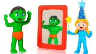 Tommy Becomes A Muscular Man 💕 Cartoons For Kids