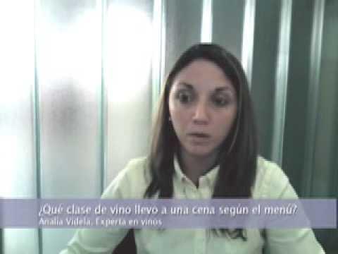 Analía Videla, Sommelier y catadora - La Voz de la Experiencia.mov