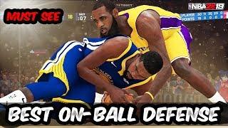 ONBALL DEFENSE COMPLETE - WIN EASY NBA 2K19 - BEST DEFENSE NBA 2K19 (HD)