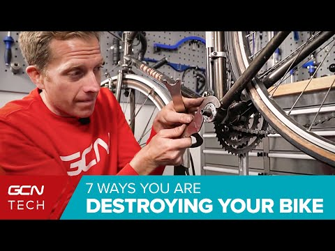 7 Ways You're Ruining Your Road Bike | Bicycle Maintenance Mistakes To Avoid