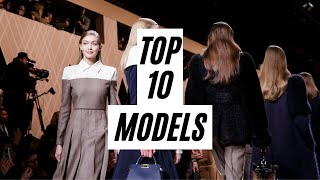 Top 10 Models | Fall/Winter 2018 | Most Opened Shows