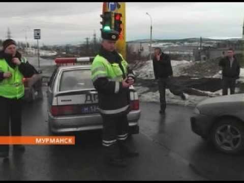 Дорожные споры с мурманскими полицейскими